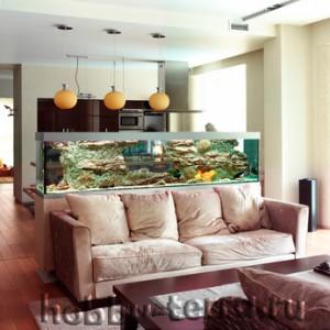 аквариум-в-декоре-дома