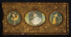 Древняя-картина-украшенная-бумагокручением