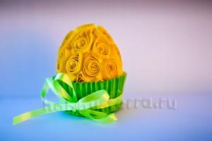 Пасхальное-яйцо-квиллинг