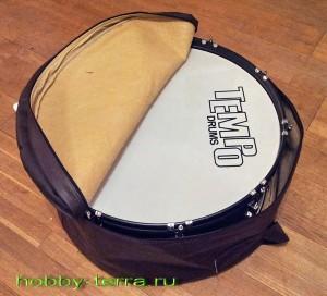 барабан в чехле