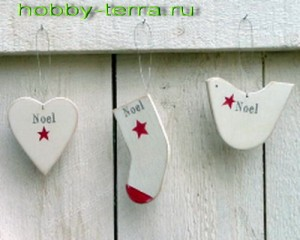 новогодние носочки из фанеры своими руками