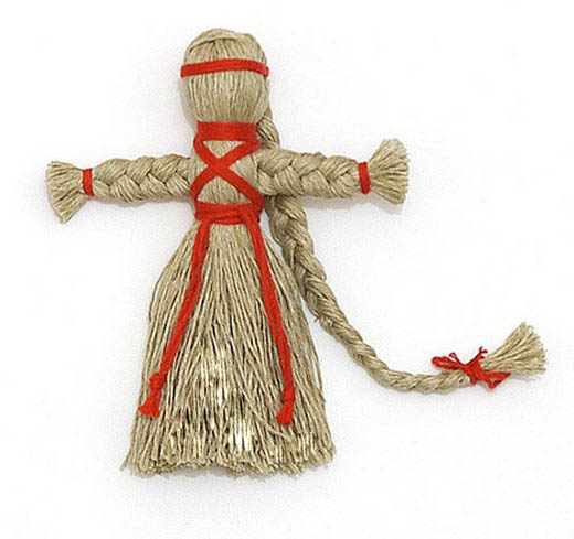 Кукла-берегиня на масленницу
