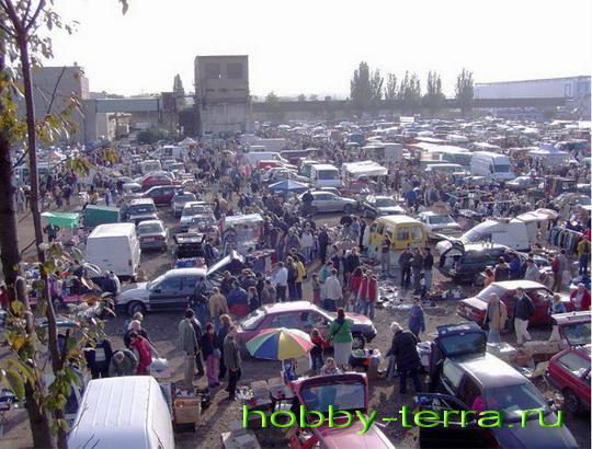 Блошиный рынок Праги