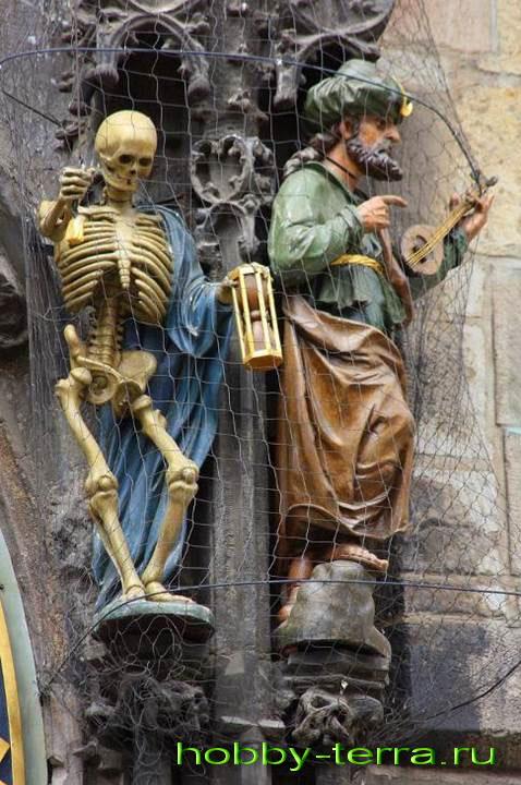 Скелет-попрошайка