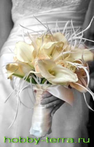 Свадебный букет Креатив