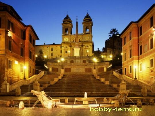 Рим площадь Испании