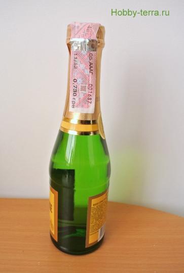 Butylka shampanskogo «Prazdnichnaya»-1