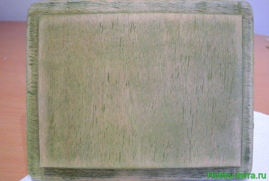 Ideya dekorirovaniya shkatulki «Korolevskiy pion»-15