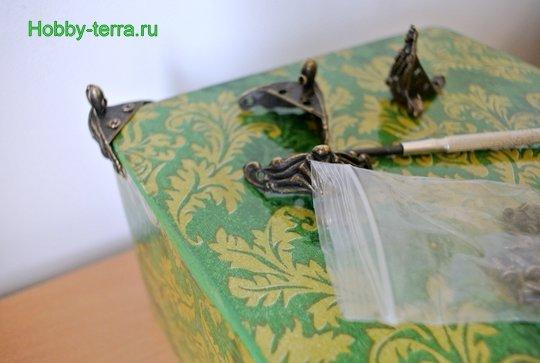 Ideya dekorirovaniya shkatulki «Korolevskiy pion»-19