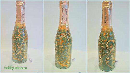 29-2014-12-15_Ideya dekorirovaniya butylki shampanskogo v stile vintazh