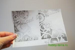 03-Ideya dekorirovaniya oblozhki dlya pasporta vitrazhnymi kraskami