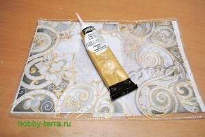 05-Ideya dekorirovaniya oblozhki dlya pasporta vitrazhnymi kraskami