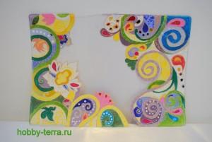 15-Ideya dekorirovaniya oblozhki dlya pasporta vitrazhnymi kraskami