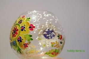 21-Podsvechnik-vaza v vitrazhnoy tekhnike