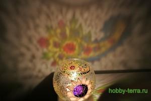32-Podsvechnik-vaza v vitrazhnoy tekhnike