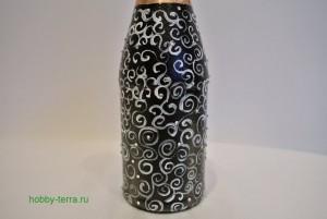 9-2015-02-02_Ideya dekorirovaniya butylki shampanskogo Beloye na chernom
