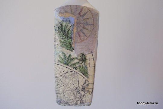 04-_Ideya dekorirovaniya butylki Morskoy briz