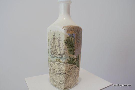 08-_Ideya dekorirovaniya butylki Morskoy briz