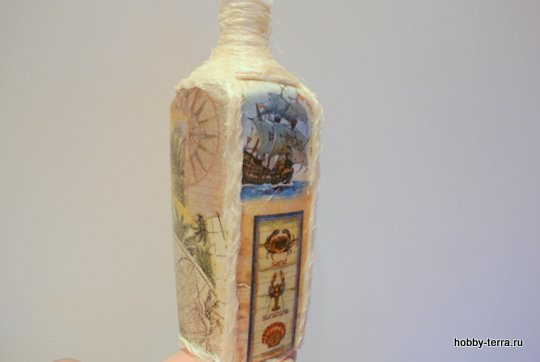 13-_Ideya dekorirovaniya butylki Morskoy briz
