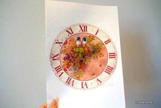 4-2015-07-06_Идея декорирования часов Птичьи трели