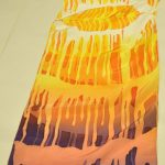 паток батик Солнечный водопад