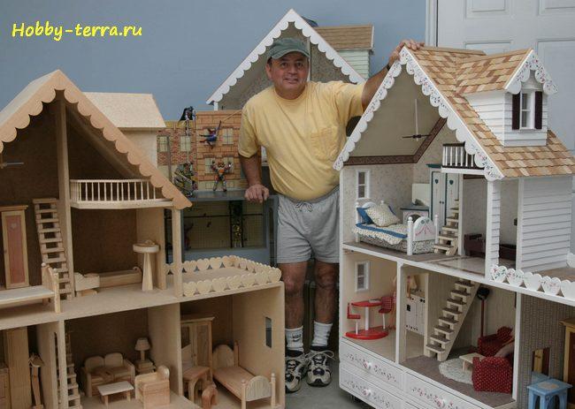 коллекционирование домиков